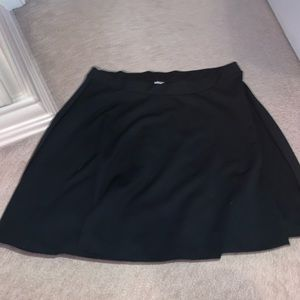 Old Navy Black Skater Skirt